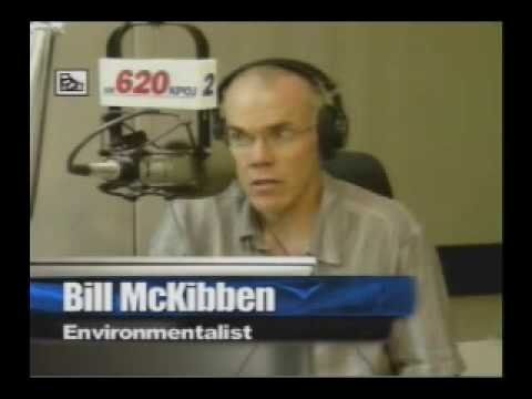 Thom w/ Bill McKibben - Why is 350 the most important number in the world?