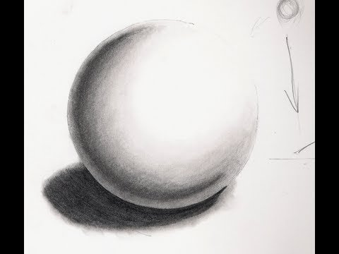 [Realistic Drawing Tutorial 3/8] How To Draw A Sphere