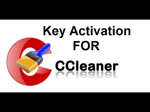 How to install ccleaner pro with key