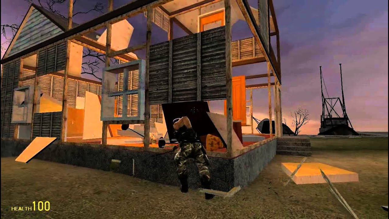 Gmod destructible house mod w hunter and derek