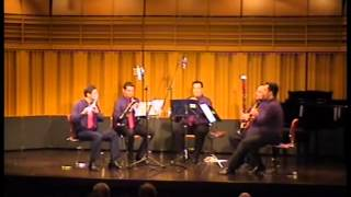 Tombeau de Couperin For Wind Quintet arr  by Gunther Schuller  IV  Rigaudon