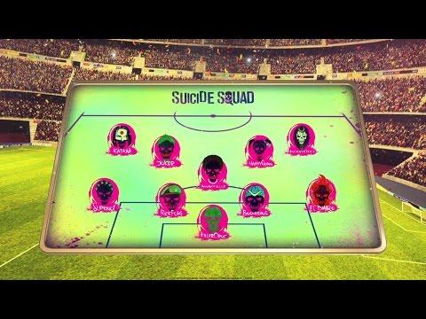 Suicide Squad - La squadra degli Europei di calcio 2016