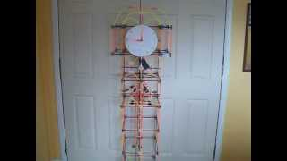 "K'nex ""how Time Flies!"" Grandfather Clock"