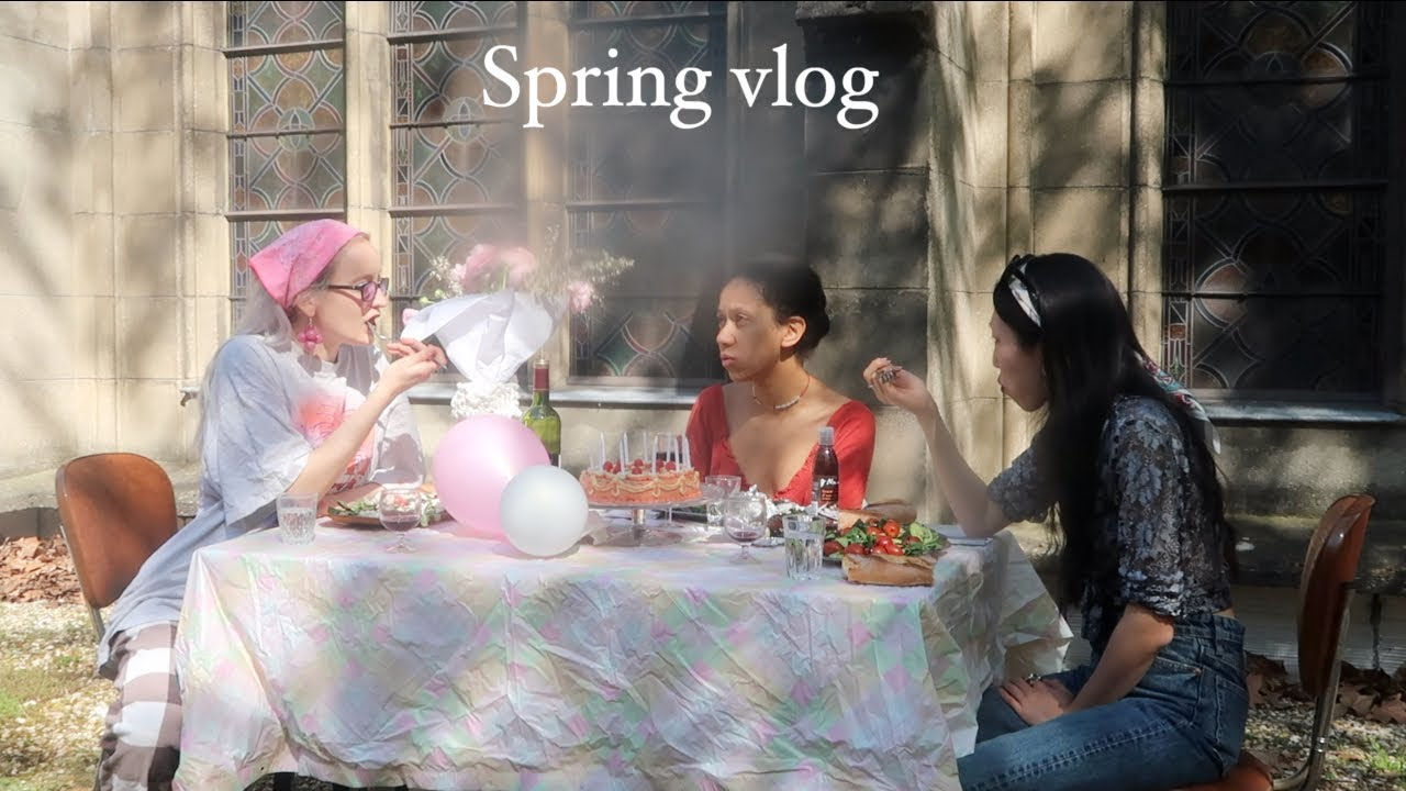 Rethinking my daily Life - Art, friends & spring in Paris VLOG 🌸