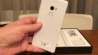 Xiaomi Mi MIX 2 4G Phablet Full Ceramic Unibody - WHITE  Special Edition  Uboxing - Review Price