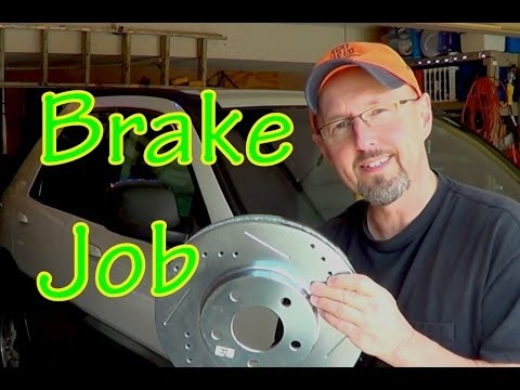 GM SUV Brake Job -  Brake Pads and Rotors