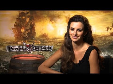 'Pirates of the Caribbean: On Stranger Tides' Penélope Cruz Interview
