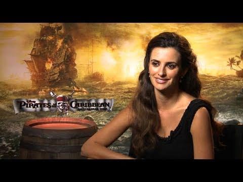 'Pirates of the Caribbean: On Stranger Tides' Penélope Cruz Interview