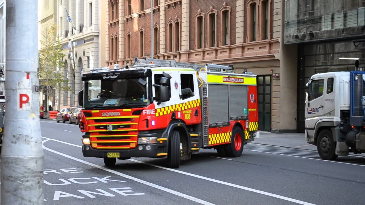 Nsw Fire Rescue Flyer 001 And Pyrmont 038 Responding
