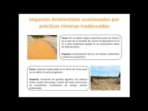 Pollution Info Session #9: Good practices in alluvial gold mining (in Spanish)
