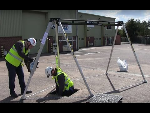 G-Force TM12 Multi Purpose Lifting, Confined Space Rescue Device.