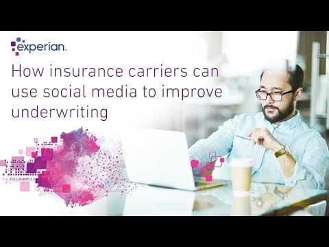 How insurance carriers can use social media to improve underwriting