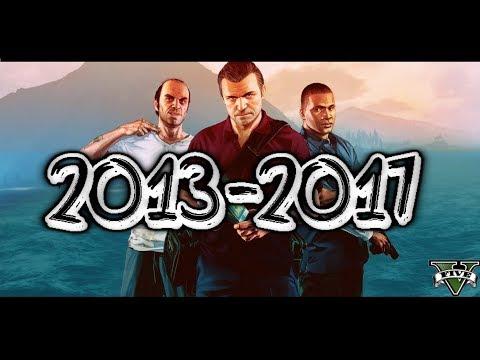 """ALREADY 4 YEARS ! HISTORY & ALL DLCs """"2013-2017"""" - GTA 5"""