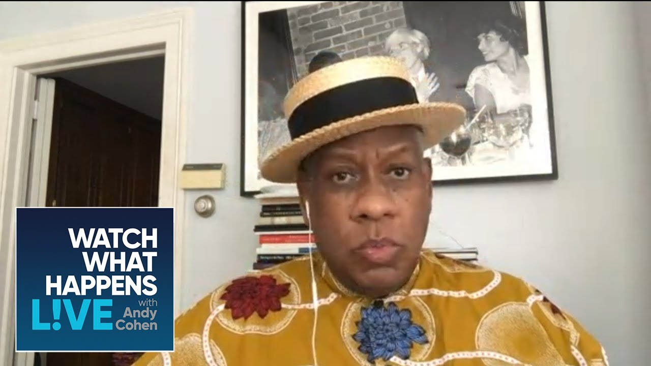 André Leon Talley's Relationship with Melania Trump | WWHL