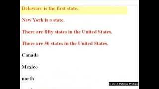 United States Citizenship- Writing Test Review