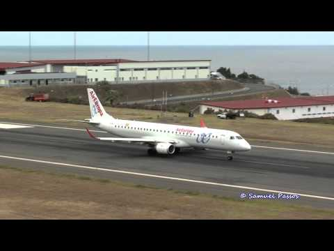 [[Unusual Spanish Airlines at Madeira]] Air Europa & Privilege Style B757 E190
