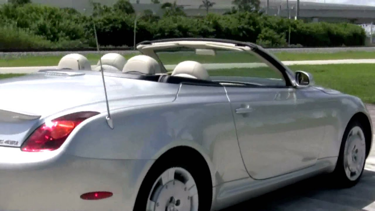 2002 Lexus Sc430 A2550 Youtube