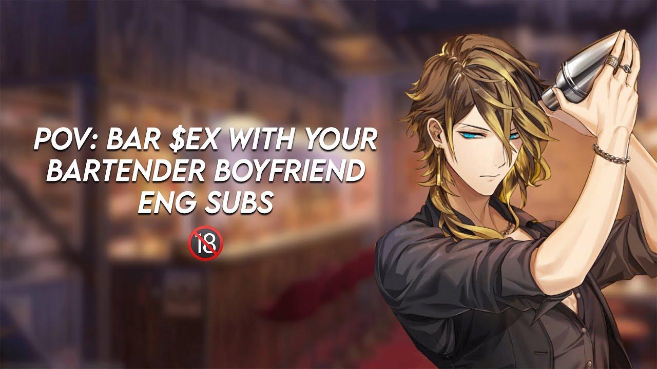 Download ASMR pov: bar seggs with your bartender anime boyfriend +18 Eng subs