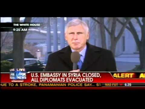 U.S. Embassy In Syria Closed
