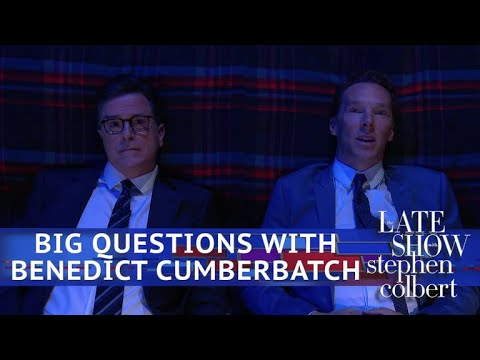 Benedict Cumberbatch: Big Questions With Even Bigger Stars