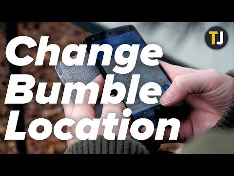 How To Change Your Location In Bumble!
