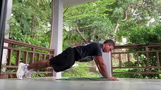 Комплексная тренировка для дома Как накачать грудь и плечи дома Упражнения на мышцы груди и плеч