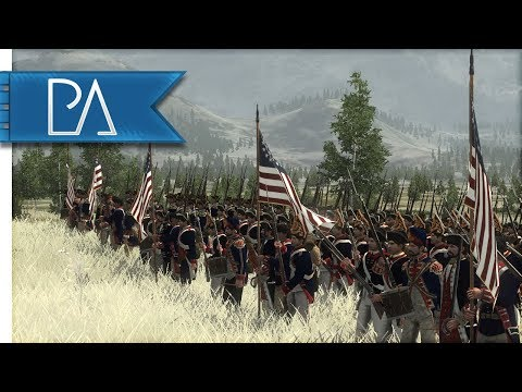 Battle for American Independence: UK vs USA - Empire Total War gameplay