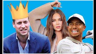 EXTRA! EXTRA! King William? More Harry Drama! Khloe Bikini-Gate! Tiger Woods Speeding! Bridgerton!
