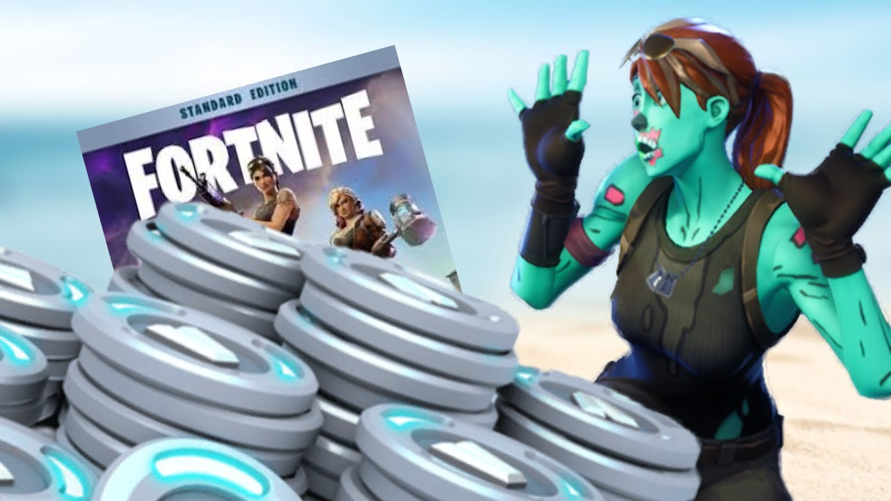 How Many V BUCKS Do You REALLY Get In Fortnite Save The ...