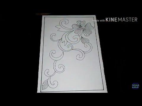 Cara Menggambar Sketsa Motif Batik Sketsa 26