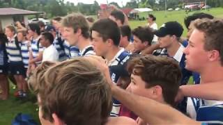St Joseph's Nudgee College and the Fijian Rugby 7's team united through music
