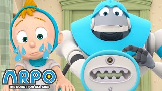 Arpo the Robot | ARPO IS FIRED!!! +MORE FULL EPISODES | Compilation | Funny Cartoons for Kids