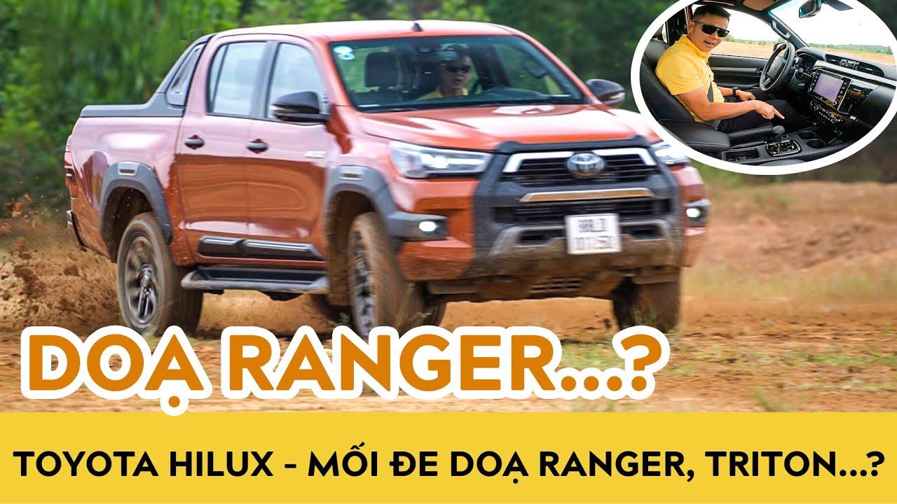 Trải nghiệm Toyota Hilux 2021