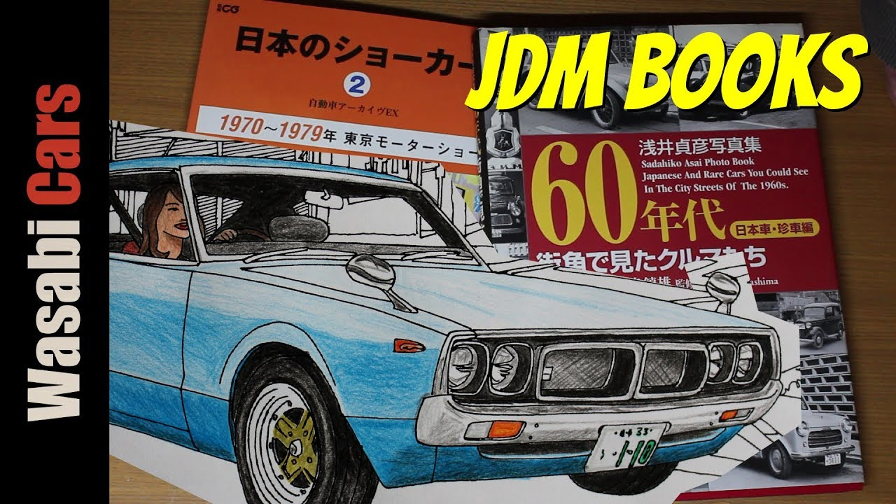 JDM Books 70s Show Cars 60s Car Spotting And Colouring Fun