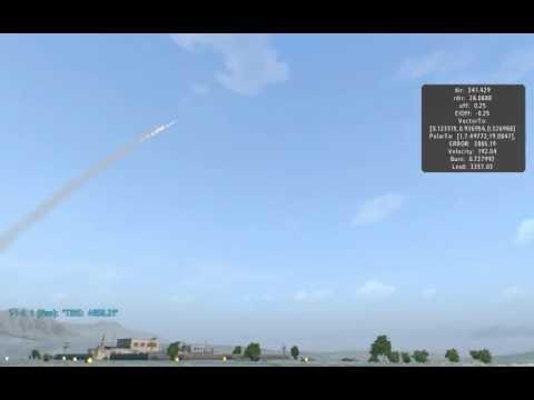 ArmA2 SA-15 Gauntlet 9M330 missile script test....