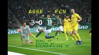 AS Saint-Etienne - FC Nantes 3-0 Le résumé