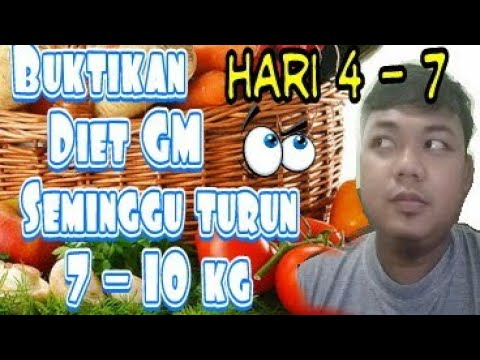 Tips Tubuh Ideal Dengan Diet 7 Hari Turun 7 Kg Tanpa Gym (+Video)
