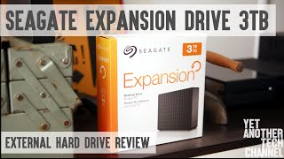 Seagate Expansion Drive 3TB - USB 3.0 external hard drive review