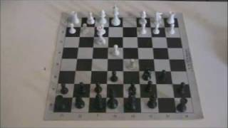 Chess - Fork in the French Defense