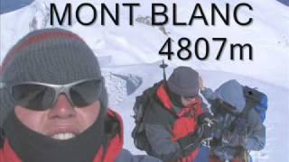 Mont Blanc 4807 m