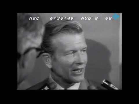 NBC NEWS - 1968 REPUBLICAN NATIONAL CONVENTION (NIGHT 4 of 4)