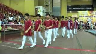 2011全港小學體操邀請賽 運動員退場