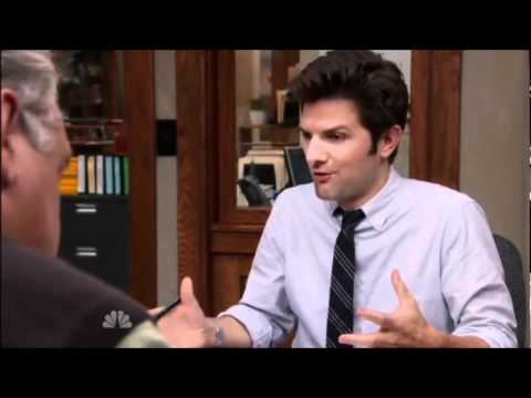 Game Of Thrones Reference In Parks And Recreation Youtube