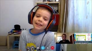 Английский по Скайпу с носителем языка для детей