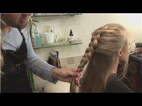 Long Hairstyles : How to Do a Dutch Braid: Long Hairstyles