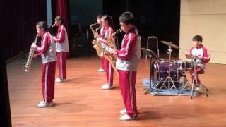 福榮街官立小學14-15年度 - 「校際音樂節管樂小組」季軍