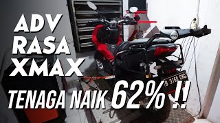 JADI SEKENCANG XMAX: BORE UP HONDA ADV JADI 180 CC