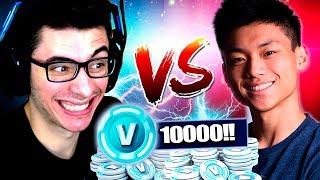 ATCHIIN VS FLAKES | VALENDO 10000 V-BUCKS NO FORTNITE!! thumbnail