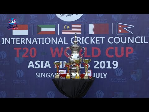ICC T20 World Cup Asia Region Final Qualifiers: Nepal v Singapore