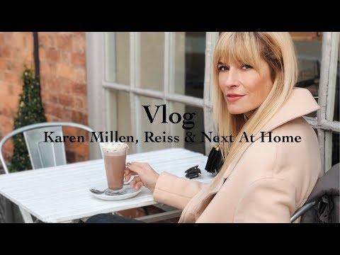 FASHION VLOG | KAREN MILLEN, REISS & NEXT HOME